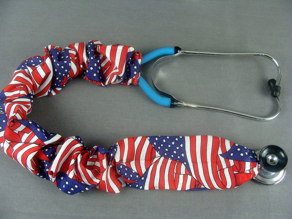 Stethoscope Cover - American Flag