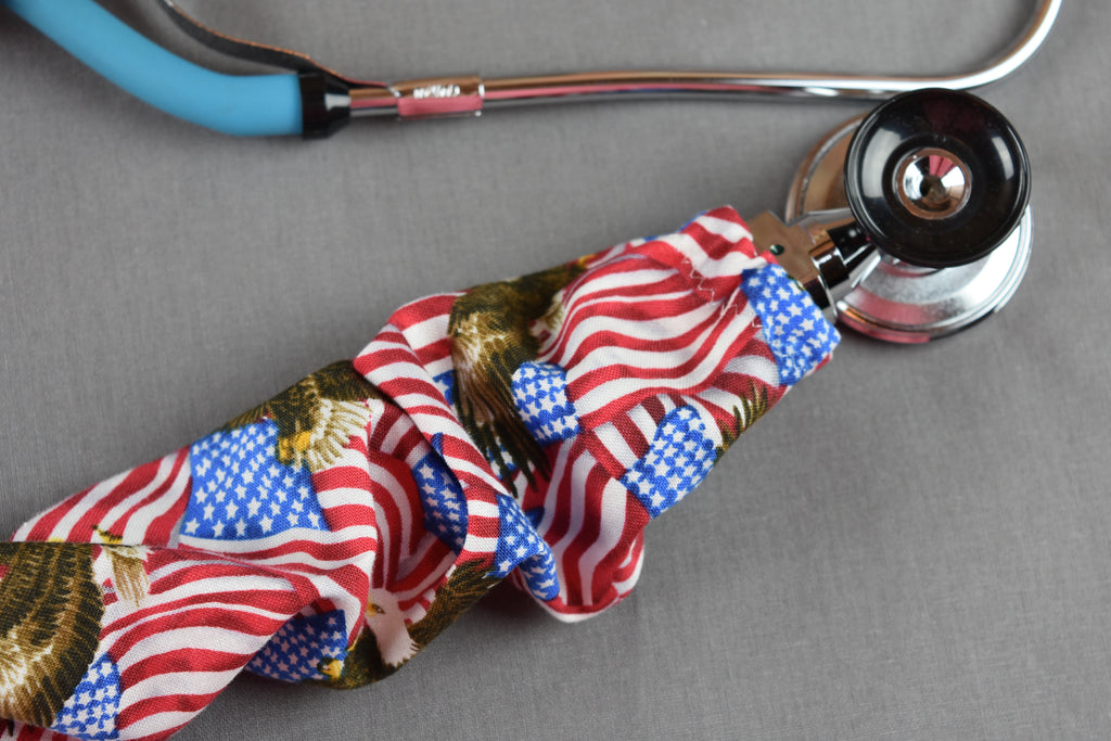 Stethoscope Cover - American Eagle Flag