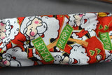 Stethoscope Cover- Red Christmas Santa