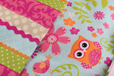American Girl Doll Bedding - 18 Inch Doll Bedding Set - Owls