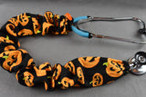 Stethoscope Cover - Jack-o-Lanterns