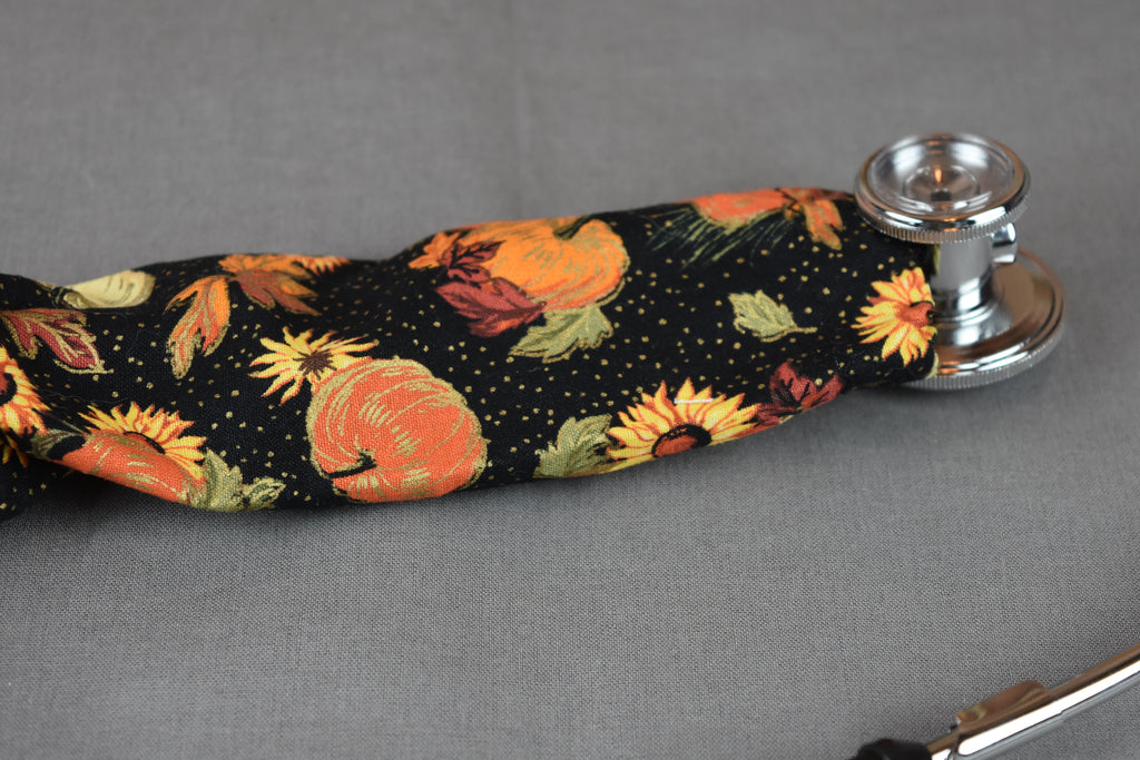 Stethoscope Cover - Fall Pumpkins