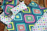 Fashion Doll Bedding - 12 Inch Doll Bedding Set - Diamonds