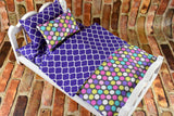 American Girl Doll Bedding - 18 Inch Doll Bedding Set - Polka Dots