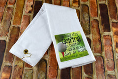Golf Towel - Bad Day Golfing
