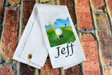 Golf Towel - Personalized With Name