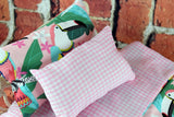American Girl Doll Bedding - 18 Inch Doll Bedding Set - Toucan