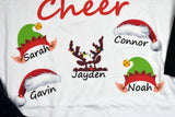 Grandmother Shirt - Christmas Cheer Raglan