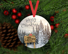 Christmas Ornament - Personalized Family Ornament