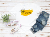 Women's Bee Happy - Tank or T-Shirt
