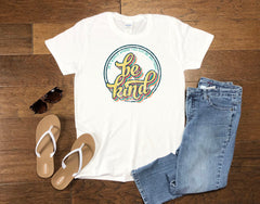 Women's Retro Be Kind - Tank or T-Shirt