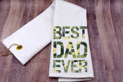 Golf Towel - Best Dad Ever