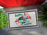 Welcome Mat - Happy Camper