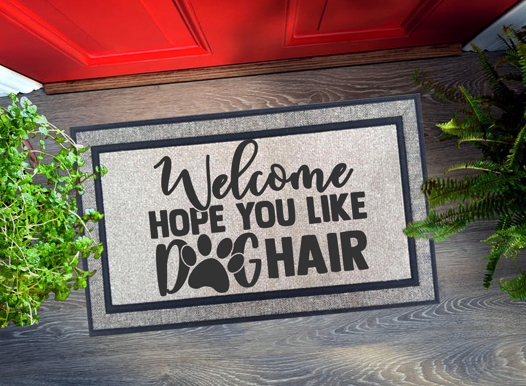 Welcome Mat - Dog Hair