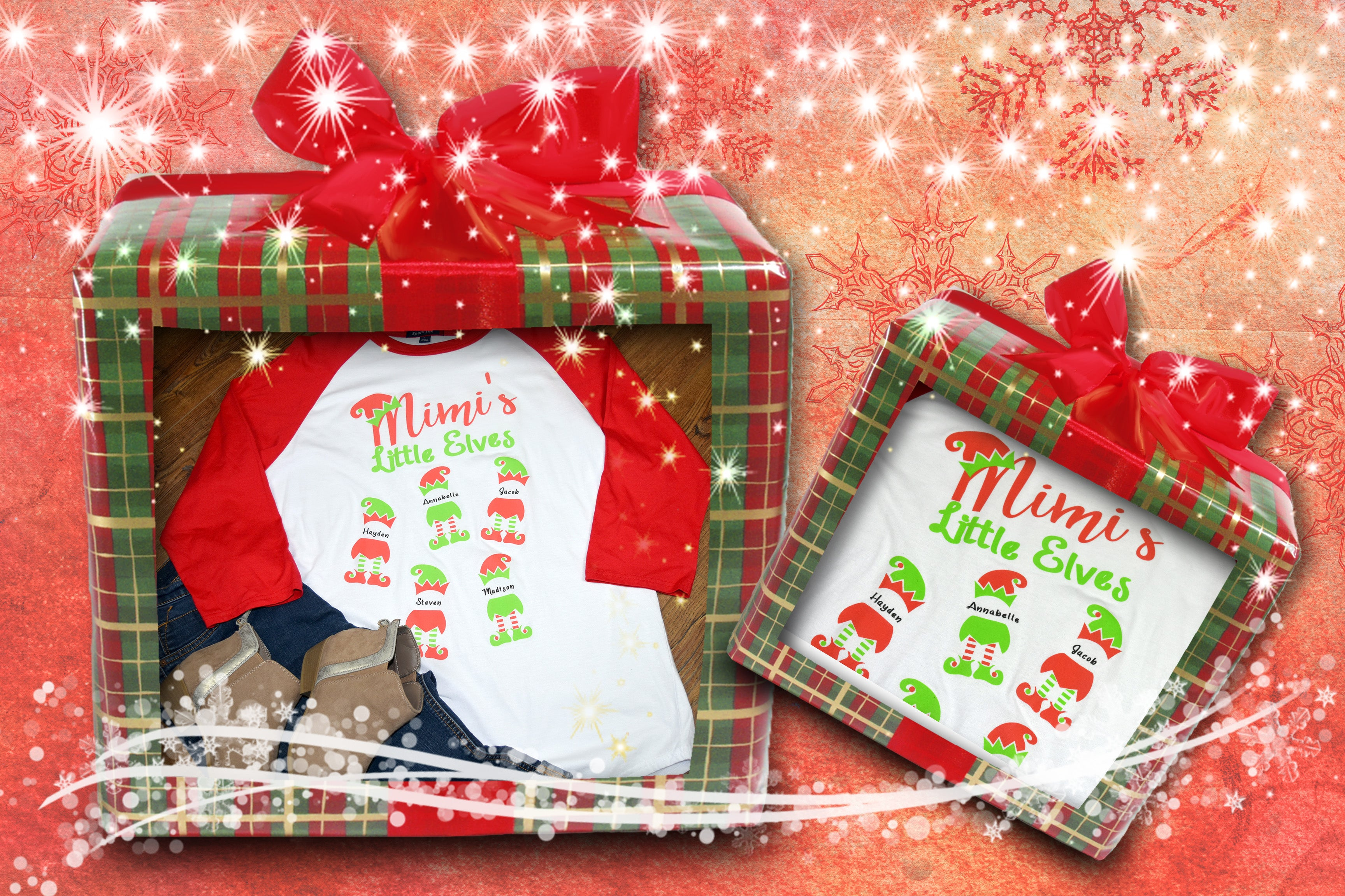Grandmother - ELF Christmas Shirt