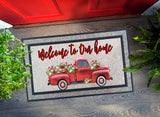 Welcome Mat - Vintage Truck