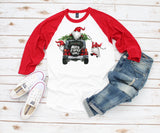 Women's Christmas Shirt - Merry Christmas Gnomes