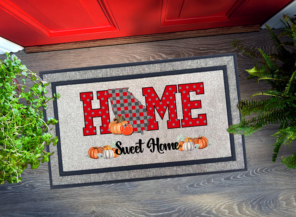 Welcome Mat - Home Sweet Home Georgia