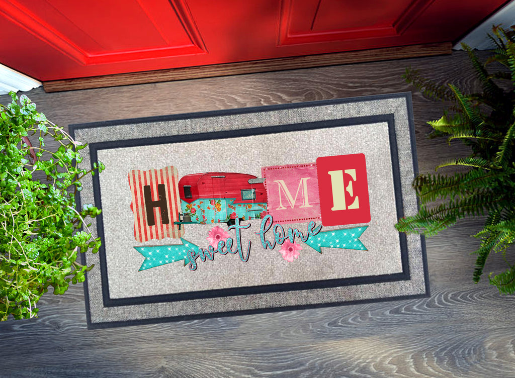 Welcome Mat - Home Sweet Home Camper
