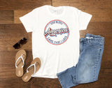 Women's Retro God Bless America - Tank or T-Shirt