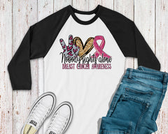 Women's Breast Cancer Shirt - Nobody Fights Alone