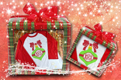 Christmas Ornament Monogram Shirt
