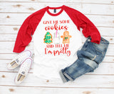 Women's Christmas Shirt - Christmas Cookies
