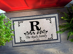 Welcome Mat - Personalized Family Name