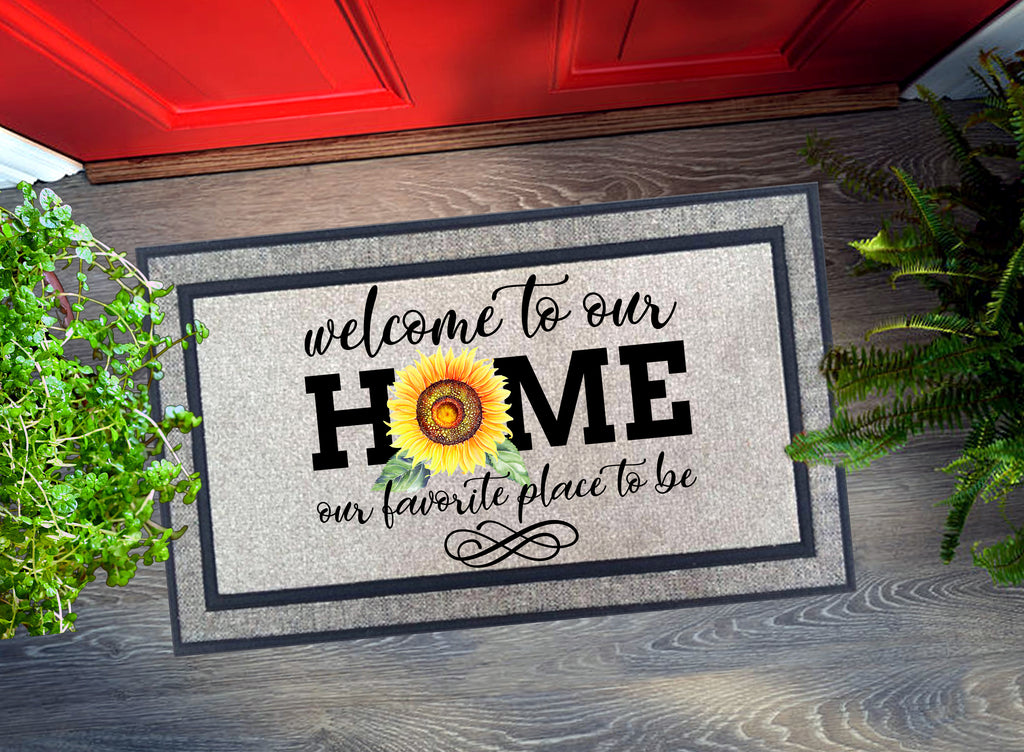 Welcome Mat - Welcome to our Home