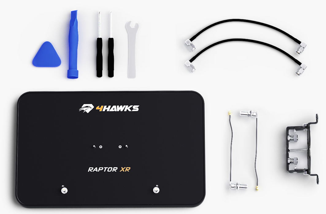4Hawks Raptor XR Range Extender (Mavic Mini / Air / Pro / Platinum, Spark, & Mavic 2)