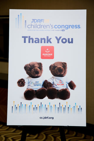 Aurora World JDRF Children's Congress Type 1 Diabetes Awareness