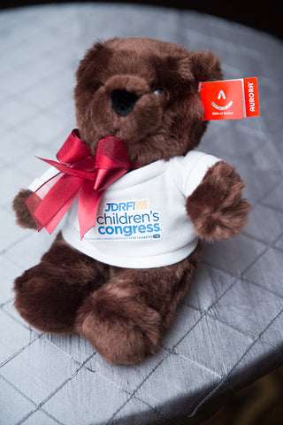 JDRF Children's Congress Teddy Bear Aurora World Washington D.C. 2017