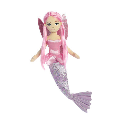 Pink Sea Fairy Mermaid - Aurora World Sea Sparkles Mermaid Dolls & Plulsh