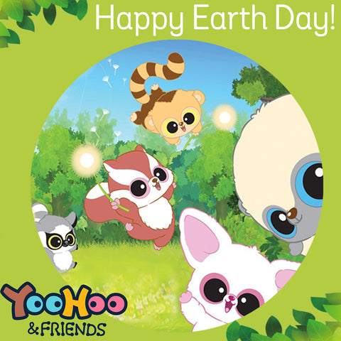 Earth Day - YooHoo & Friends Endangered Animal Plush