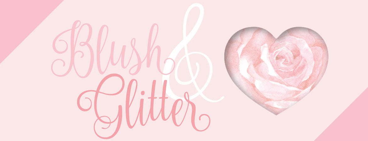 Blush and Glitter by Aurora