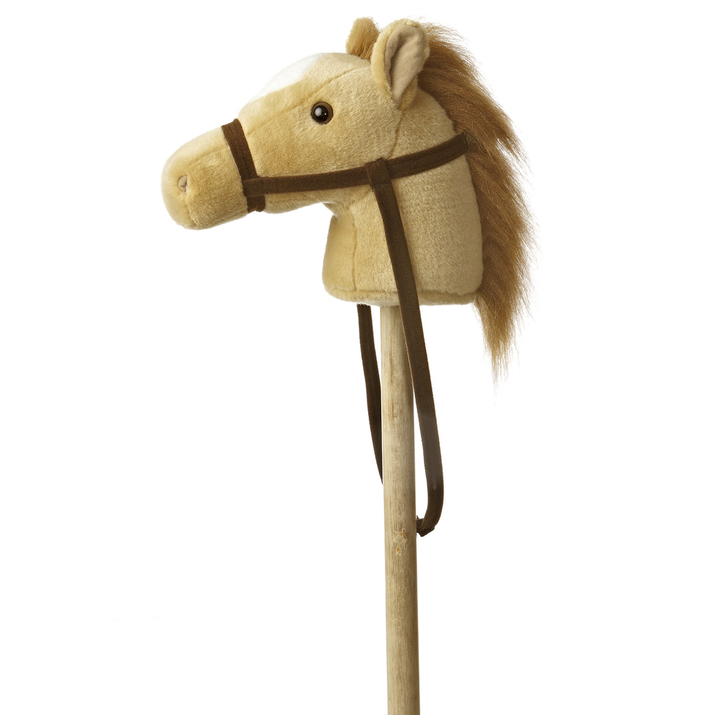 "Aurora Giddy Up Friends Stick Animals - 37"" Beige Giddy Up Pony"