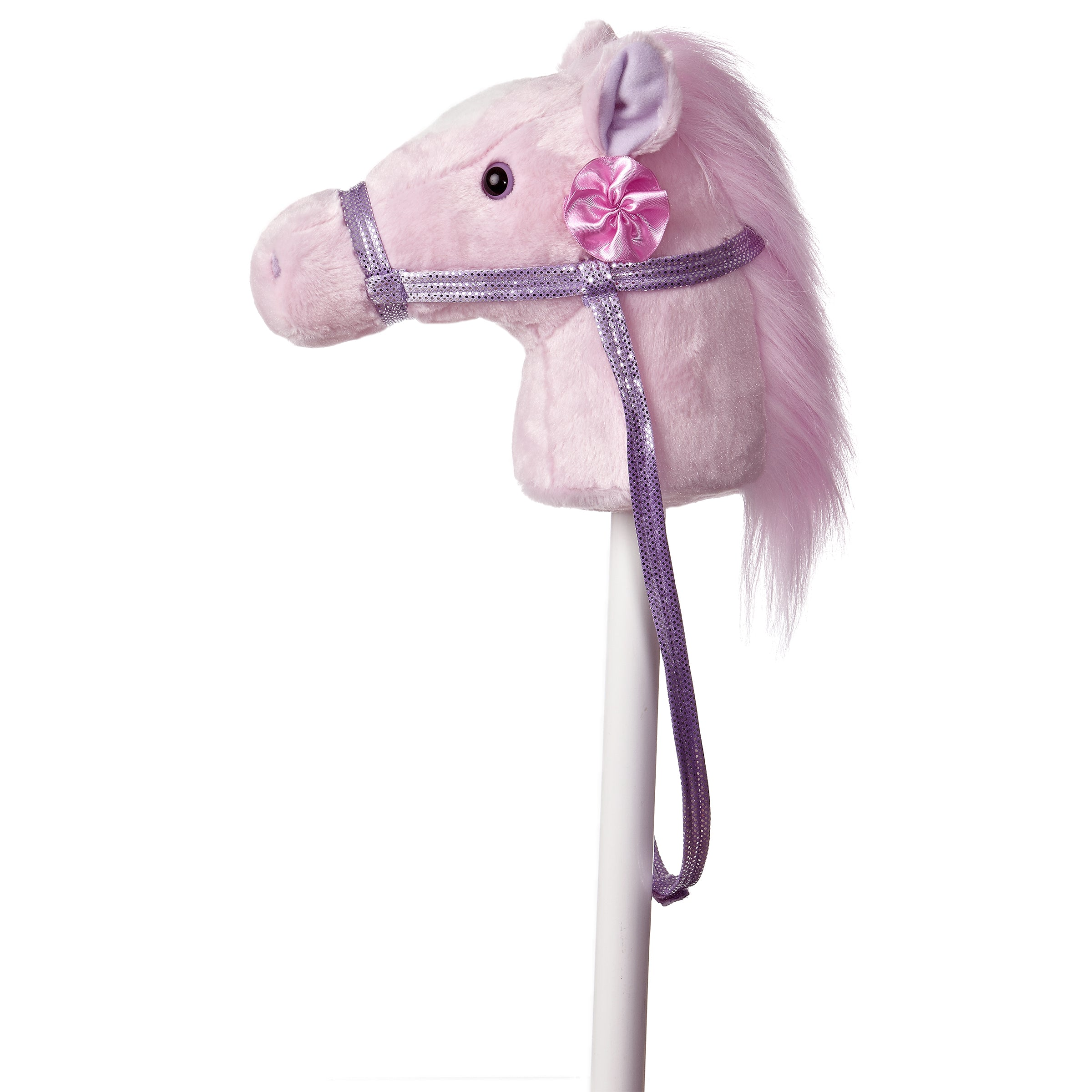 "Aurora Giddy Up Friends Stick Animals - 37"" Fantasy Pink Giddy Up Pony"