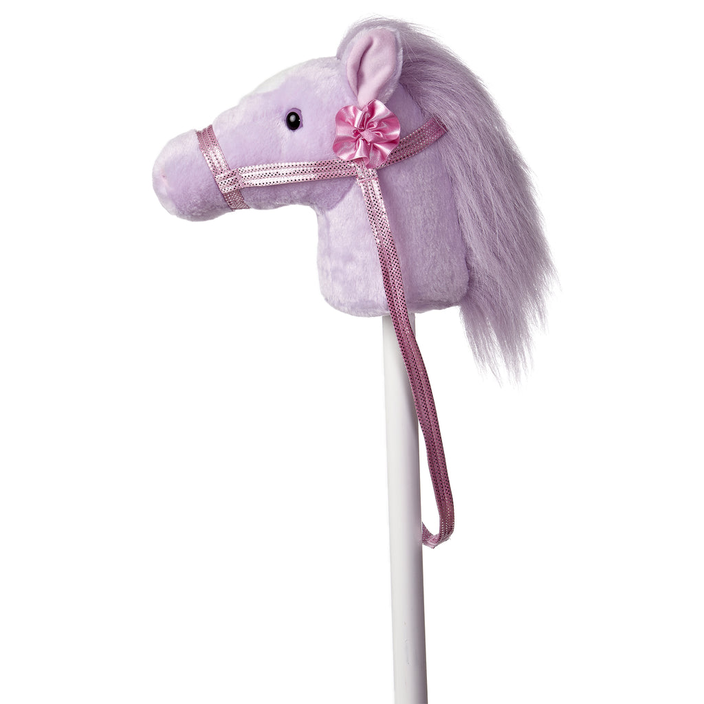 "Aurora Giddy Up Friends Stick Animals - 37"" Fantasy Lavender Giddy Up Pony"