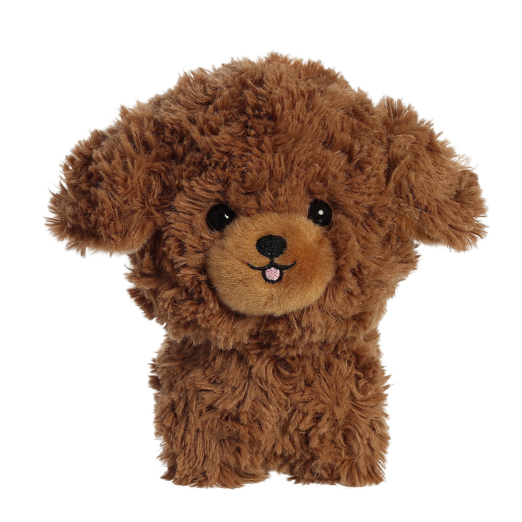 "Aurora Teddy Pets - 7"" Brown Poodle"