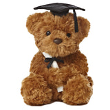 Wagner Graduation Bear Black 8.5""