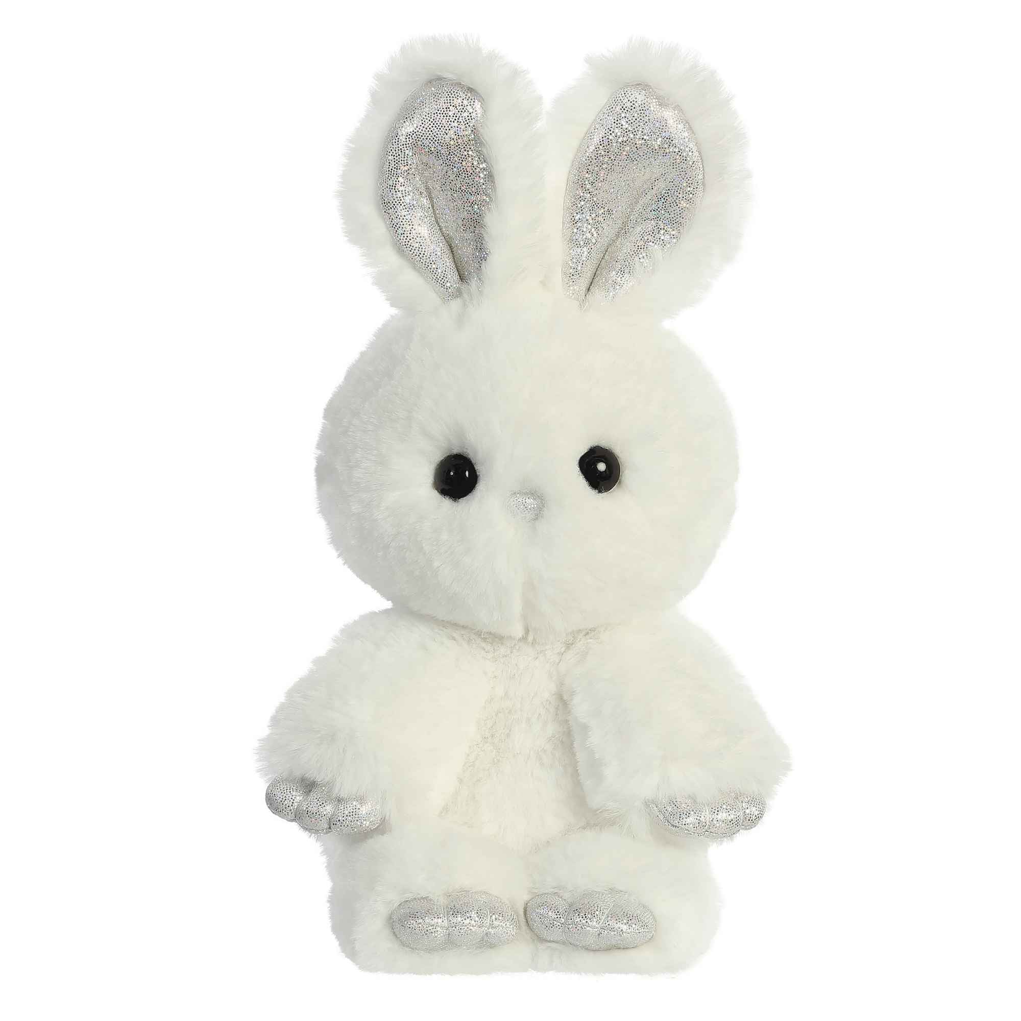 "Aurora Minkies Bunny - 10"" Off White"