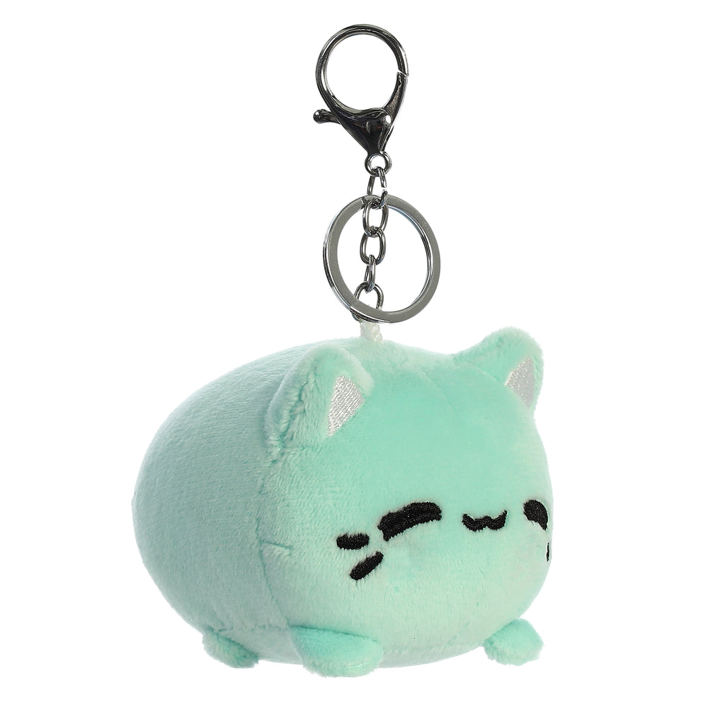 "Aurora - Tasty Peach - 3.5"" Mint Meowchi Clip-On"
