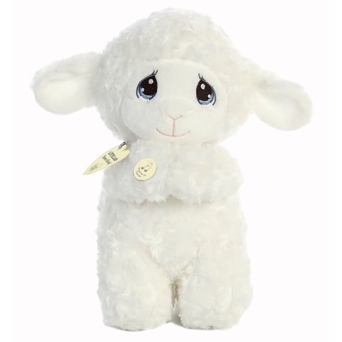 Precious Moments - Luffie Prayer Lamb (Spanish) 10in