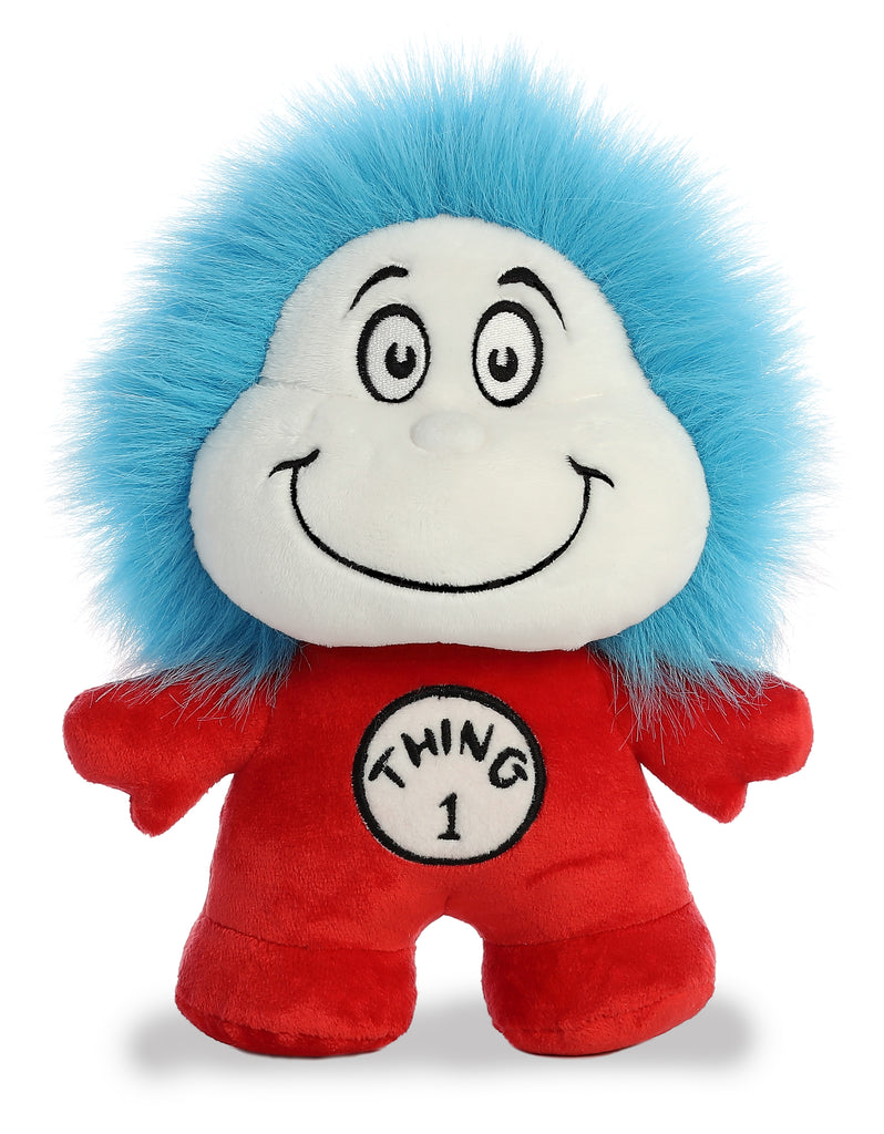 "Aurora Dr. Seuss - 8.5"" Thing 1 & 2 Double Dood Plushie"