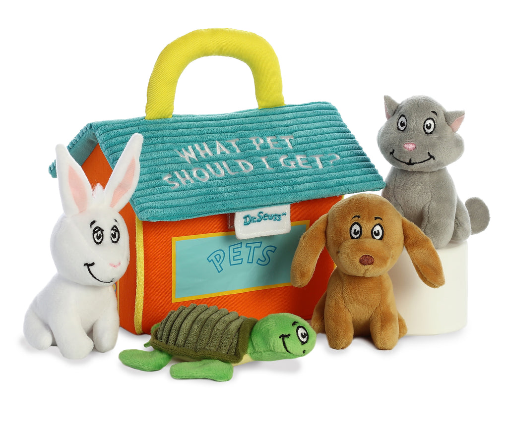 "Aurora Dr. Seuss - 8"" What Pet Should I Get Gift Set"