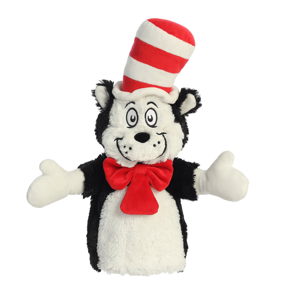 "Aurora Dr. Seuss - 14"" Cat In The Hat Hand Puppet"