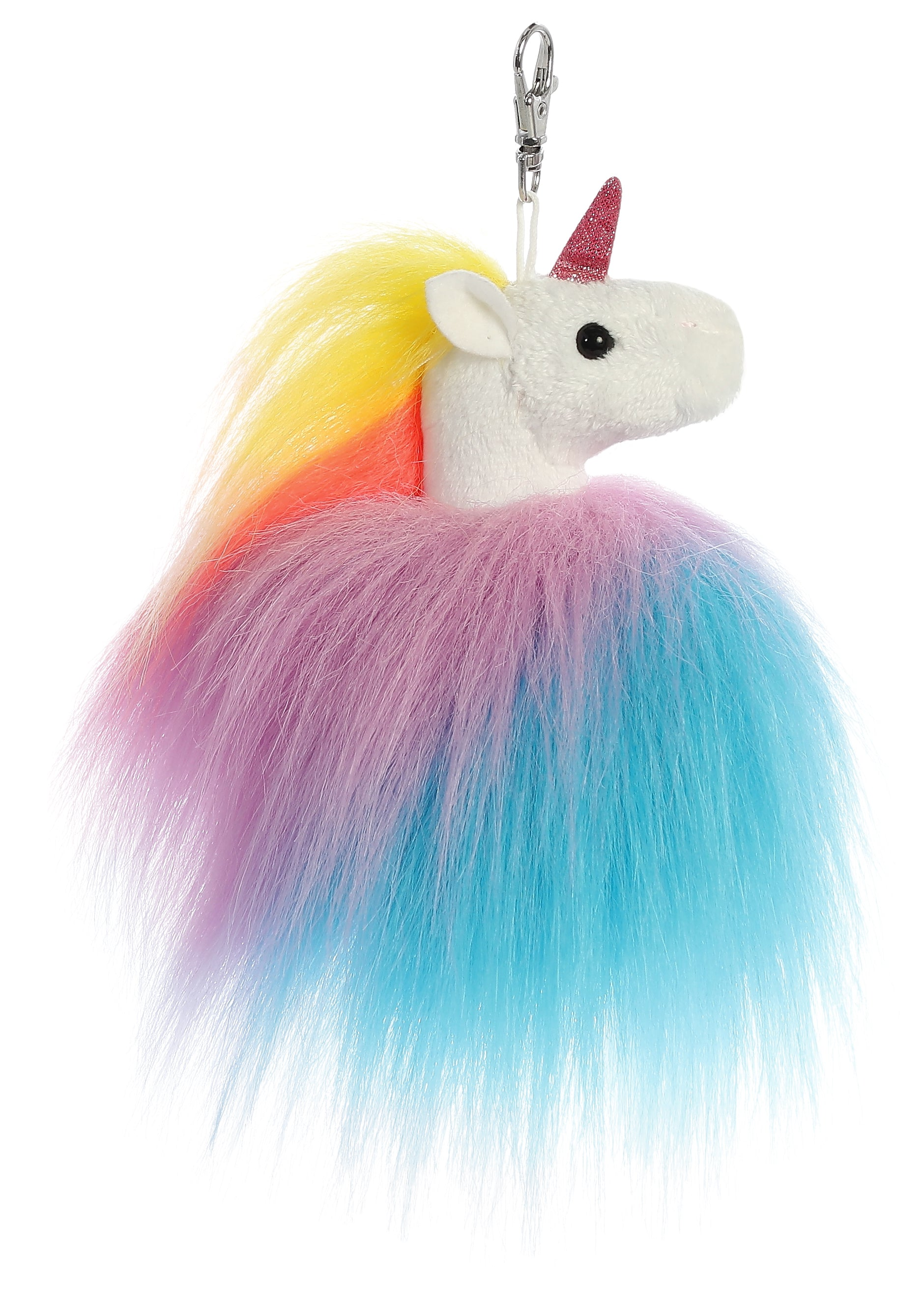 "Aurora Sparkle Tales - 5"" Twirly Unicorn Keyclip"