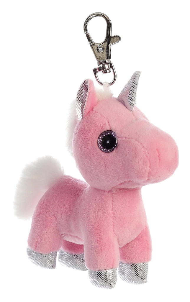 "Aurora Sparkle Tales - 5"" Blossom Unicorn Clip-on"