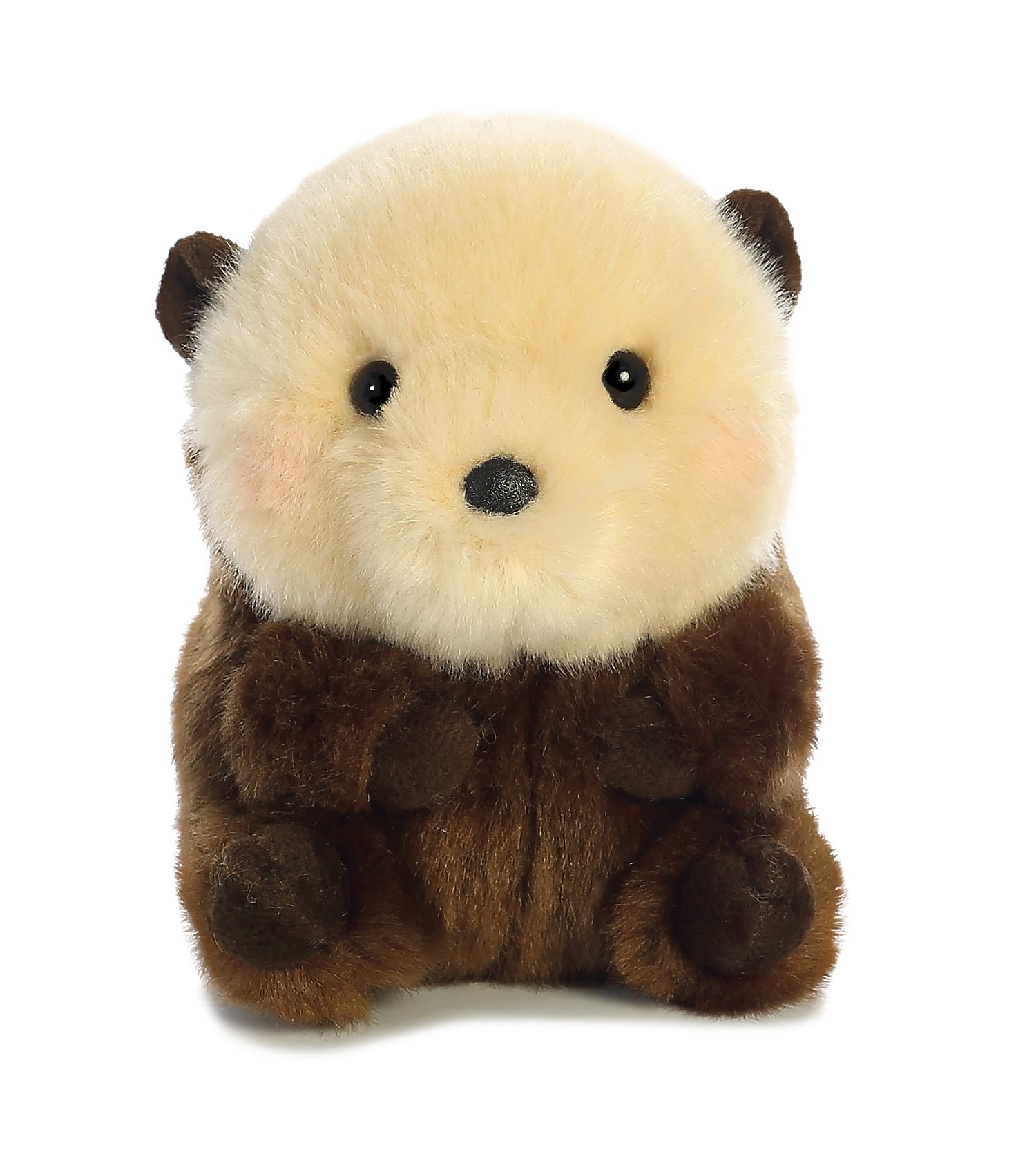"Aurora Rolly Pet - 5"" Smiles Sea Otter"