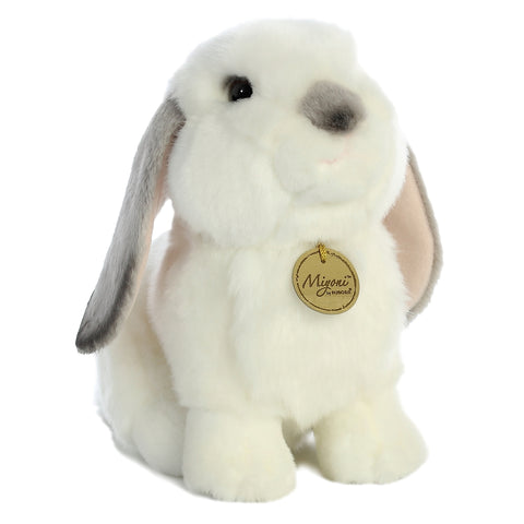 Miyoni - Lop Eared Rabbit with Grey Ears 11in